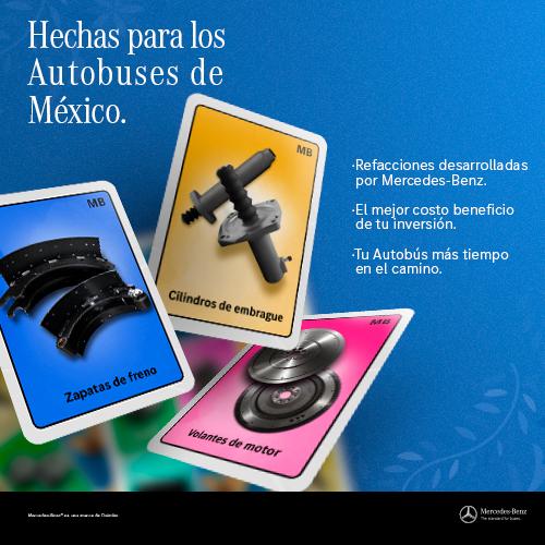 Hechas para los Autobuses de México