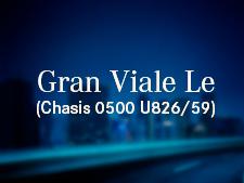 Gran Viale LE (Chasis O500 U1826/59)