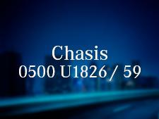 Chasis O500 U1826/59