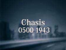 Chasis O500 1943